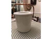 Victorian Porcelain Slop Bucket.