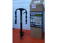Three Bike Tow Ball Carrier - BUZZ RACK Moose 3 -
