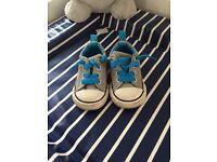Converse size 4 infant