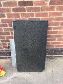 Black Granite worktops (various sizes)