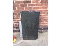 Black Granite worktops (various sizes)
