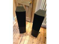 Wharfedale Crystal CR-30.4 Floor Speakers - Pair (Black)
