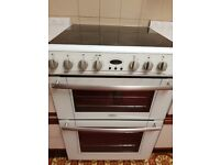 Belling electric cooker E664 white