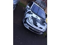 Renault scenic 2000 good engine and gearbox drives fine mot'd spares repairs