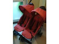 Chico Double Buggy / Stroller