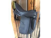 Horse saddle dressage