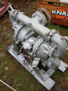 Sandpiper HDF4, DB3A Pneumatic Diaphragm pump