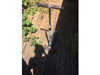 Black micro scoter in good condition - good price
