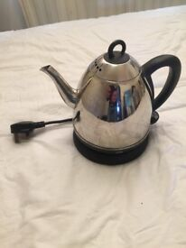 Small Stainless Cordless Travel Kettle