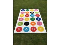IKEA Button Rug