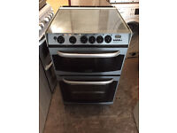 Silver Cannon 55cm Wide Gas Cooker (Fully Working & 4 Month Warranty)