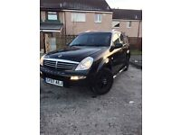 Reduced 2007 Ssangyong Rexton 2.7XDI 4x4 Jeep Long Mot same as a Merc ML270 Swaps/ PX