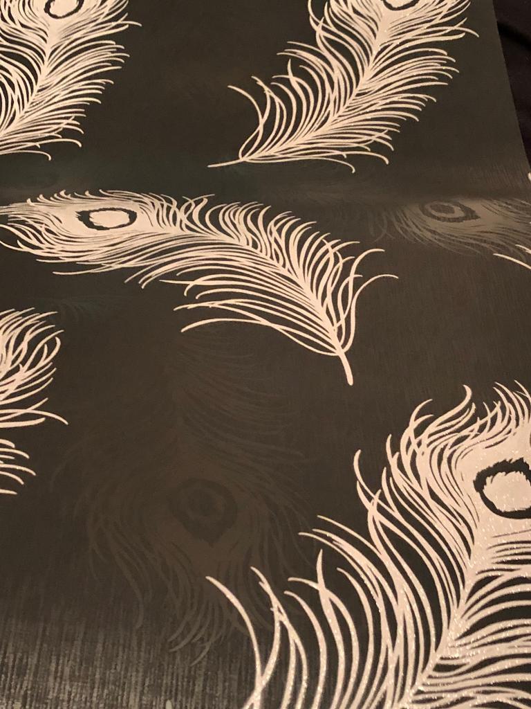 Stunning Feather Wallpaper 3 rolls