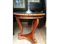Solid Mahogany Coffee / Wine Table
