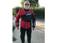 Dainese Ducati D-Air Airbag XL Motorcycle Jacket