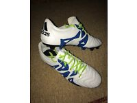 Adidas X Men's Football Boots Size 10, Firm Ground, Leather
