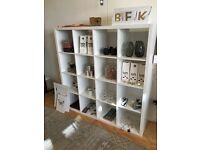 IKEA kallax shelf large white vgc