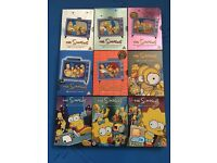 The Simpsons DVD Box Sets Seasons 1-9