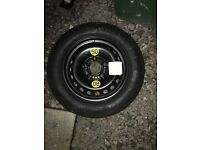 BMW SPACE SAVER SPARE WHEEL BRAND NEW