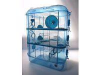 Large Hamster Cage - Fantazia Blue RRP £34.99