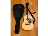 Martin Smith Acoustic Guitar & all accessories