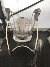 Good condition babies swing