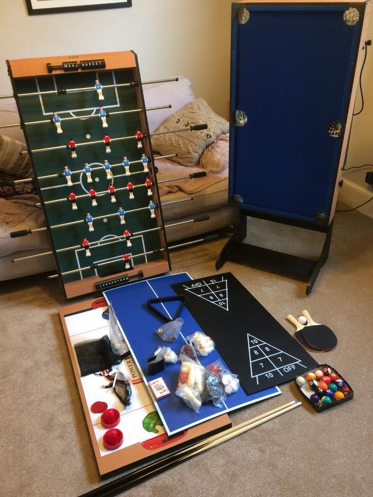 Riley BCE 4ft Multi Games Table