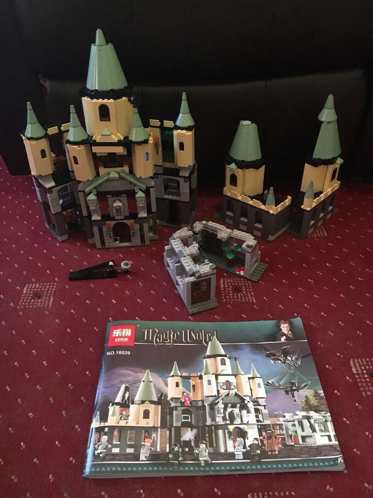 Lepin Harry Potter Hogwarts Castle Complete And Compatible With Lego