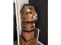 Cardboard boxes free **house move**