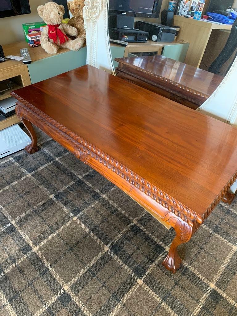 Wooden coffee table   in East Kilbride, Glasgow   Gumtree
