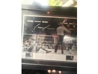 Sporting boxing memorabilia