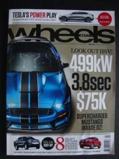 Wheels - May 2016 issue (car magazine)
