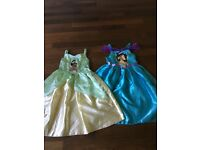 Disney Tiana & Jasmine dresses