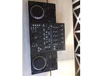 2 x CDJ 350s & Behringer DDM4000