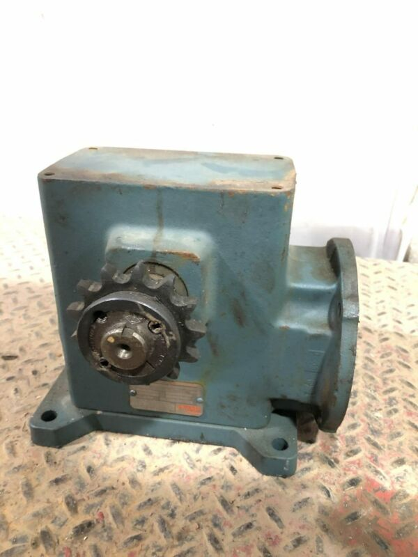 Dodge Tigear MR94669L1-BBJ-80 20:1 Gear Drive/Speed Reducer 1.77HP 1065in-lb