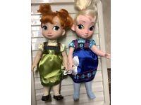 Walt Disney Frozen Dolls Anna & Elsa