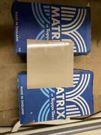 2 boxes of latte (grey) tiles