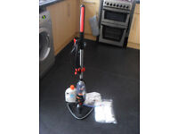 Vax Floor Steamer with new pads and conditioner (Hardly used)