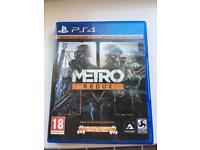 PS4 game - Metro Redux