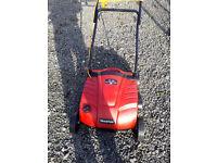 Mountfield SE350 electric lawn scarifier