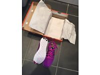 Brand new in box free run Flyknit Nike trainers Uk 4