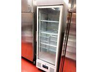Drink display fridge Polar Upright Single glass door used