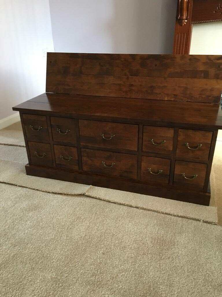 Next Tea Chest Trunk Style Coffee Table Or Tv Unit