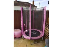 Plum junior trampoline pink in very good condition