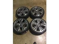 """Brand new 20"""" Alloy wheels and tyres Ford Transit ."""