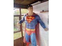 lifesize superman DC Marvel figure comic hero
