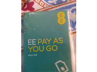 EE £10 Pay-as-you-go MULTI-SIM