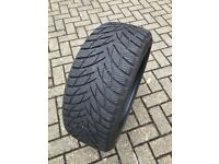 4 winter tyres, used