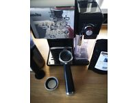 Coffee machine. Breville one touch Vcf107 black & chrome