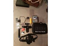 Gopro hero 4 silver edition with accessories